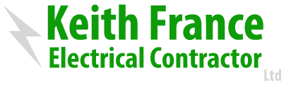 Keith France Electrical Contractor, Selby, York, Doncaster, Yorkshire, UK Logo